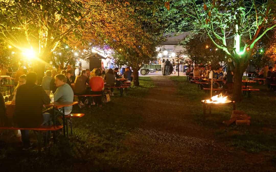 Weinfest in der Streuobstwiese – 06.-08.08.2021